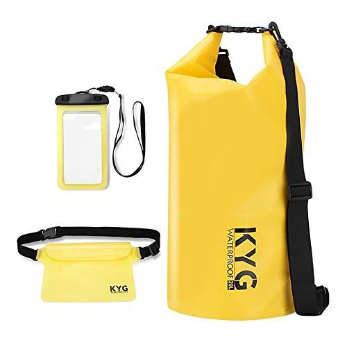 ▷Premium bolsa estanca 20L impermeable seca PVC- Set de bolsa