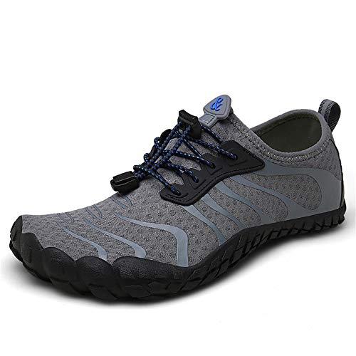 ▷UBFEN Zapatos de Agua para Hombre Mujer Buceo Snorkel Surf